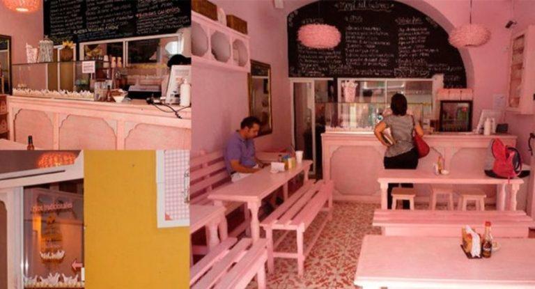 """Decoração do restaurante """"El Gallinero"""" em Cartagena de Índias"""