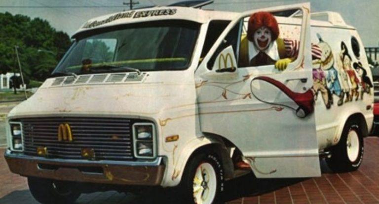 As vans e furgões customizadas dos anos 70