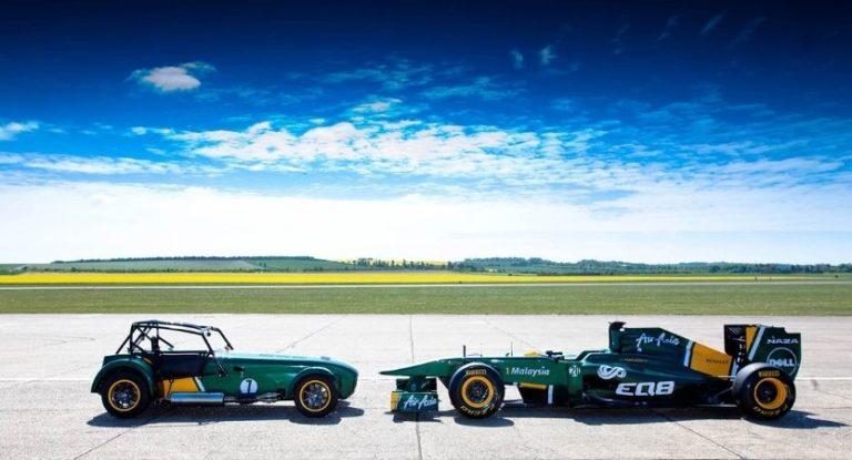 Carros de Fórmula ao estilo retrô