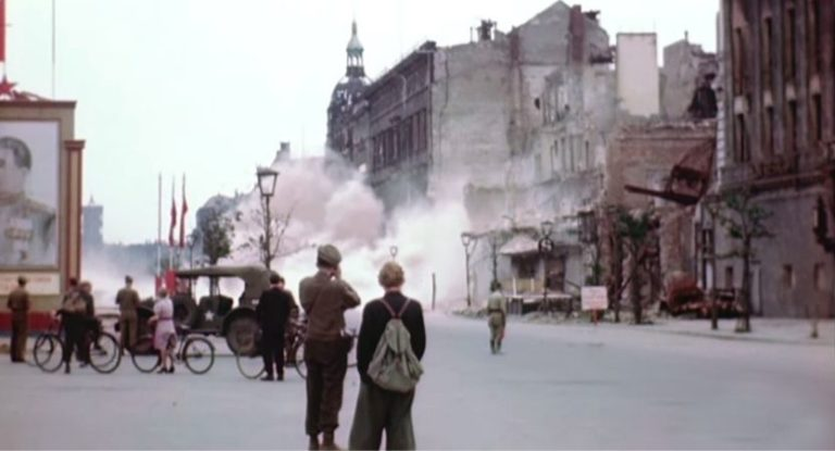 Vídeo em HD de Berlim pós Segunda Guerra (1945)